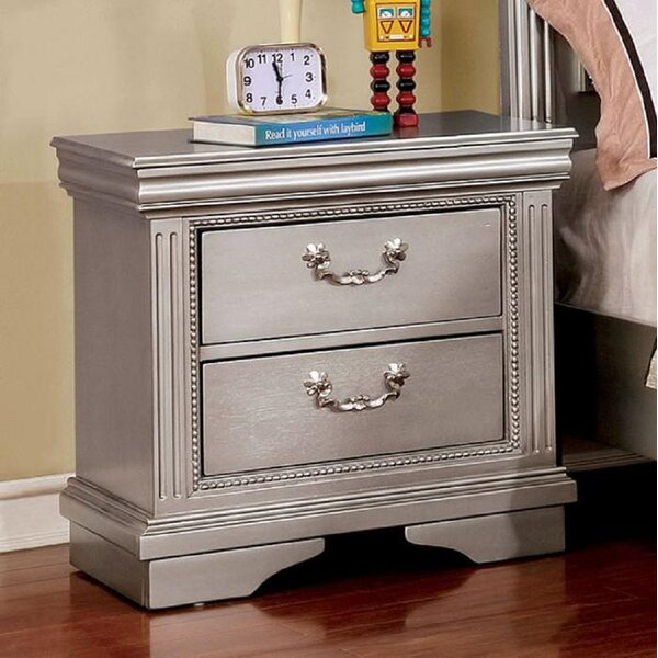 Weatherall 2 Drawer Nightstand by Rosdorf Park