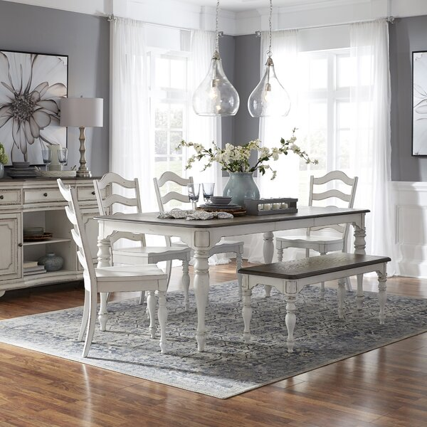 6 Piece Dining Set by Ophelia & Co.
