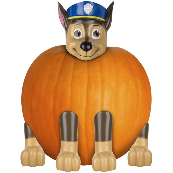 Pumpkin Push in Chase Police Pup Nick Inflatable by The Holiday Aisle