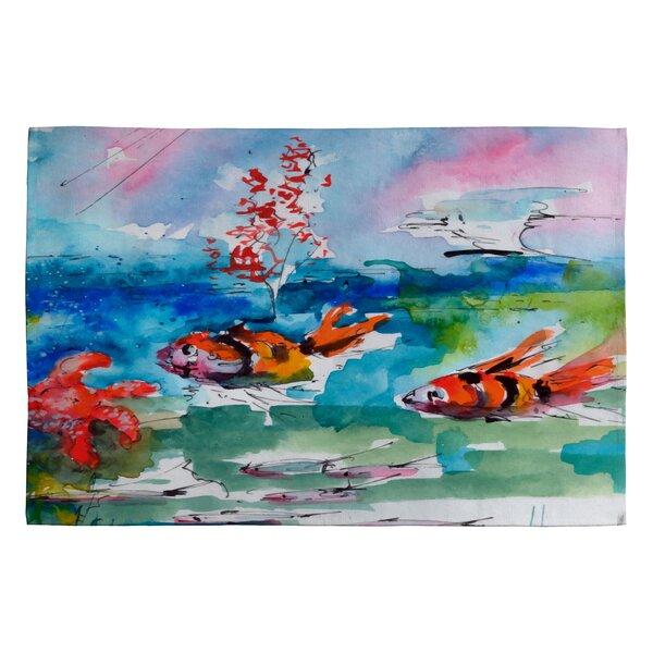 Clownfish Novelty Area Rug by East Urban Home