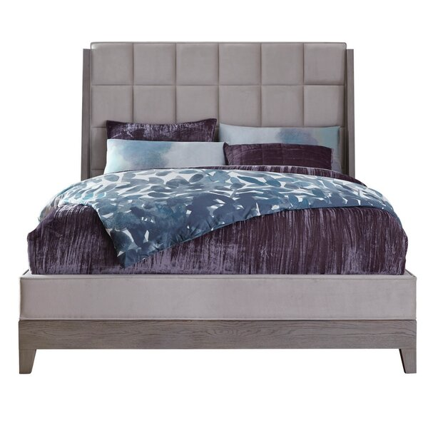 Osgood Upholstered Standard Bed by Wrought Studio