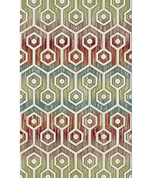 Brighten Cream Area Rug by Rugs of Dalton