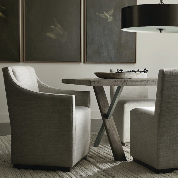 Highland Park Upholstered Side Chair in Morel by Bernhardt Bernhardt