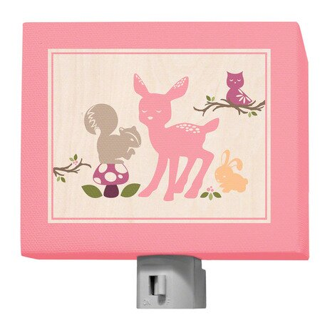 Enchanted Forest Animals Night Light by Oopsy Daisy