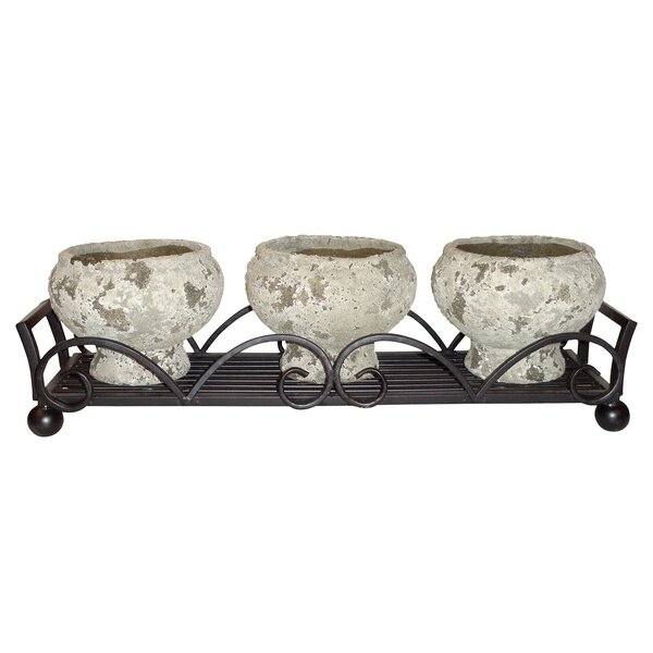 Birchover 3 Piece Pot Planter Set by Fleur De Lis Living