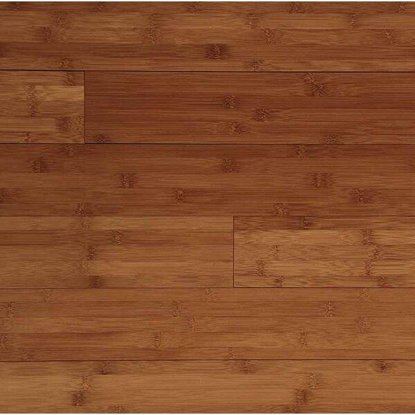 Horizontal 6 Solid Bamboo Flooring in Caramel by Easoon USA