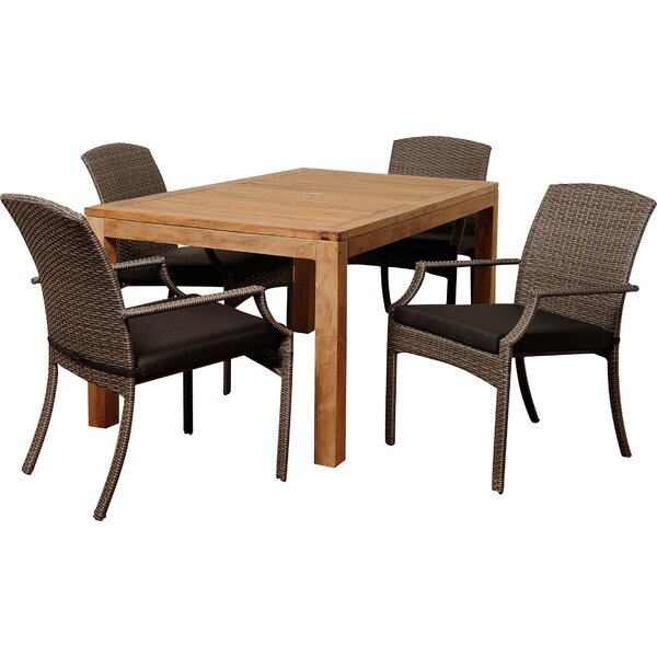 Brighton 5 Piece Dining Set by Sol 72 Outdoor