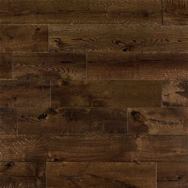 Chase French 6 Solid Oak Hardwood Flooring in Whiskey by Welles Hardwood