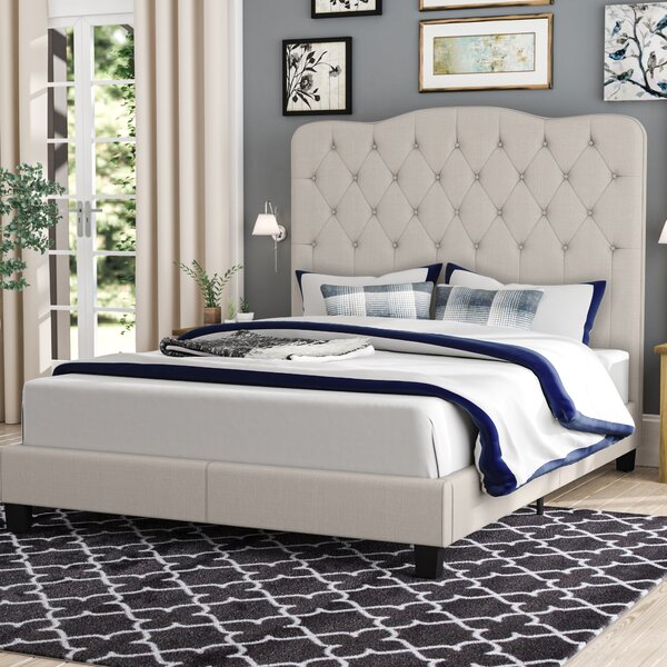 Dash Upholstered Standard Bed by Andover Mills Andover Mills