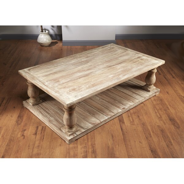 Dickens Four Column Coffee Table by Foundry Select Foundry Select