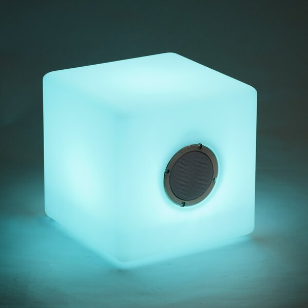 15.7 Wire Free Speaker Cube by SunTime Outdoor Liv
