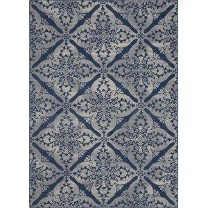 Anzell Blue/Gray Area Rug