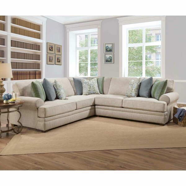 Surrey Symmetrical Sectional by Charlton Home