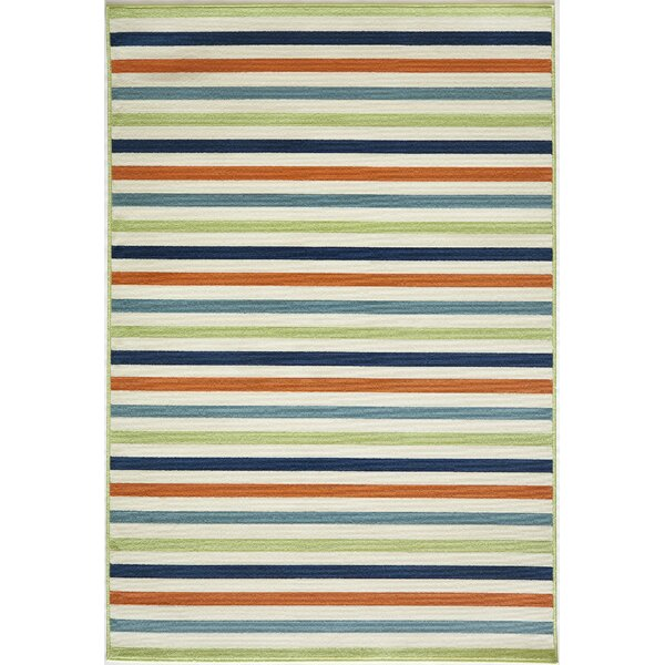 Craine Green/Red Indoor/Outdoor Area Rug by Charlton Home
