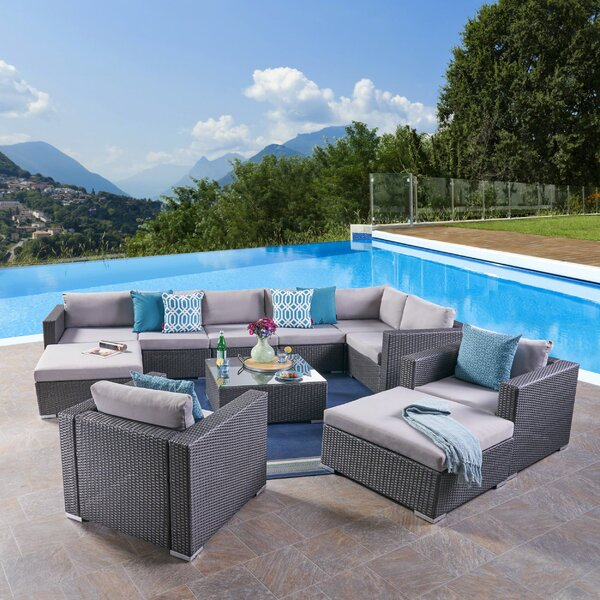 Diez 11 Piece Sectional Seating Group by Orren Ellis