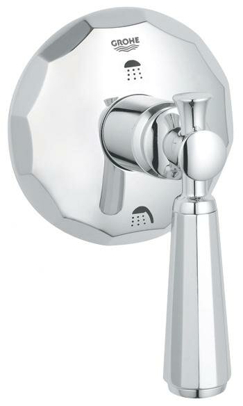 Kensington 3-port Diverter Shower Faucet Trim with Lever Handle by Grohe