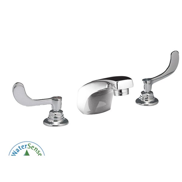 Monterrey Widespread Bathroom Faucet with Double Wrist Blade Handles by American Standard