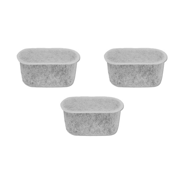 Charcoal Water Filter (Set of 3) by Crucial