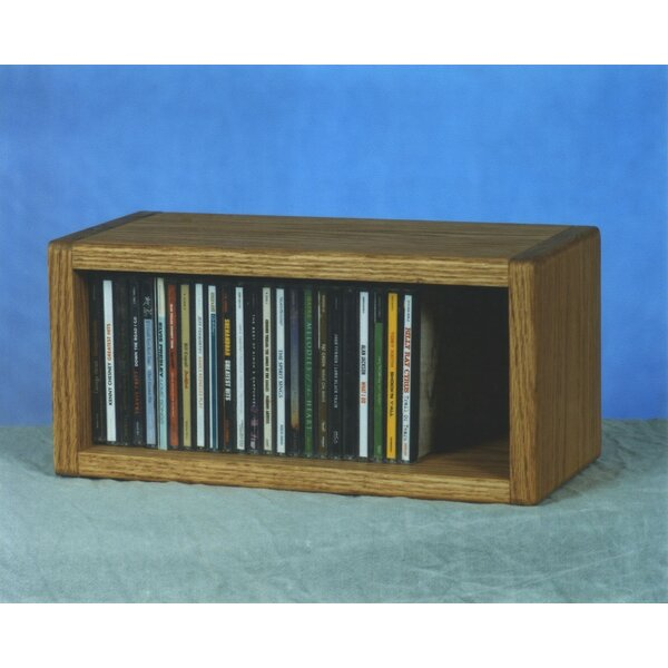 100 Series 32 CD Multimedia Tabletop Storage Rack