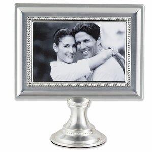 saunterton bead metal pedestal picture frame