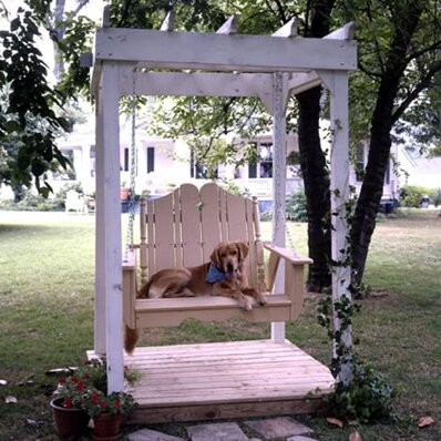 Companion Wood Arbor by Uwharrie Chair
