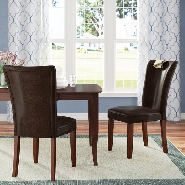 Fenley Parsons Upholstered Dining Chair (Set of 2) by Winston Porter