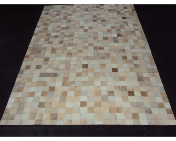 Patchwork Ivory Area Rug by Modern Rugs