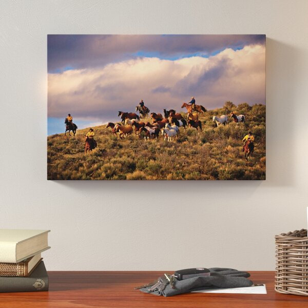 Chasing Thunder Photographic Print on Wrapped Canvas by Loon Peak
