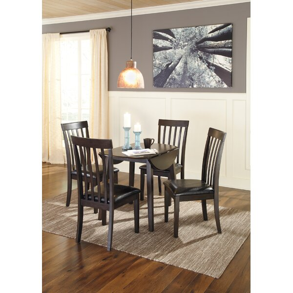 Milton 5 Piece Drop Leaf Dining Set by Andover Mills