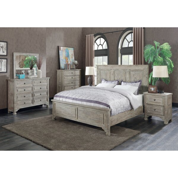 Nesler Panel Configurable Bedroom Set by Bungalow Rose