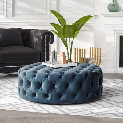 Tufted Cocktail Ottoman