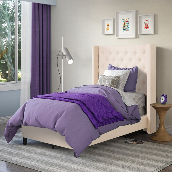 Debord Upholstered Standard Bed by Darby Home Co