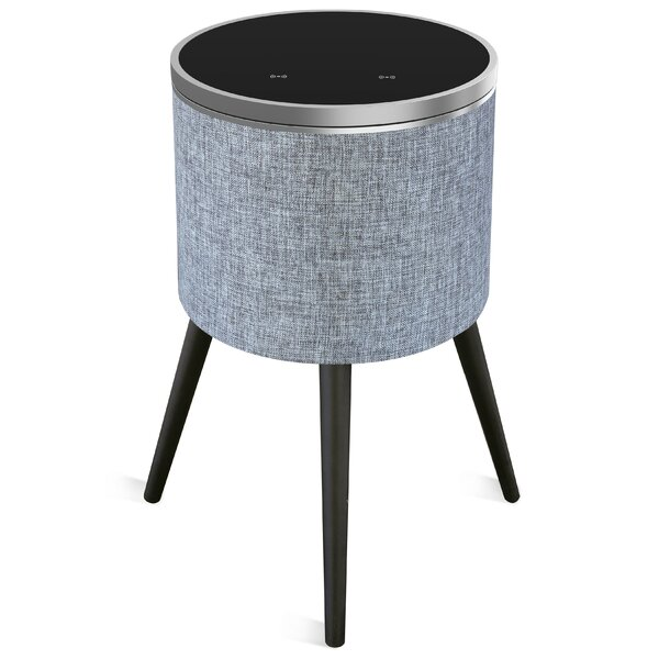 Sound Home Audio Speaker End Table with Swivel Top by Soundstream
