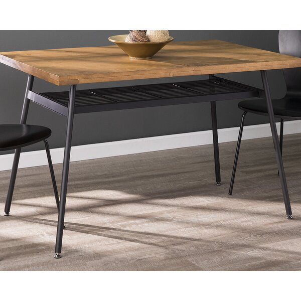 Feather Midcentury Modern Dining Table by Brayden Studio
