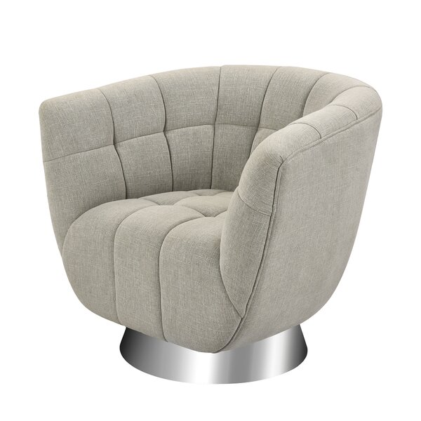 Review Cobleskill Barrel Chair