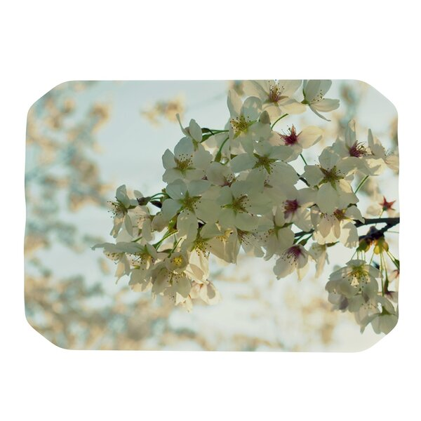 Cherry Blossoms Placemat by KESS InHouse