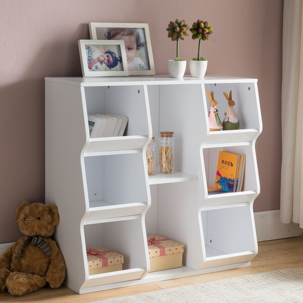 8 Shelf Cube Unit Bookcase by InRoom Designs