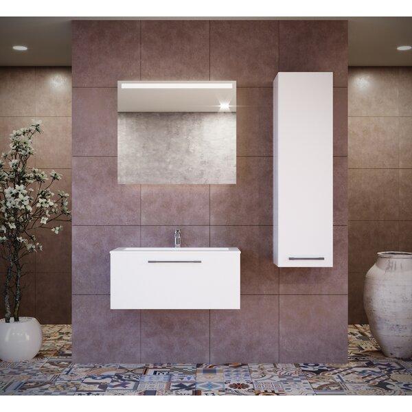 Pruneda 39 Single Bathroom Vanity Set with Mirror (Set of 3) by Brayden Studio