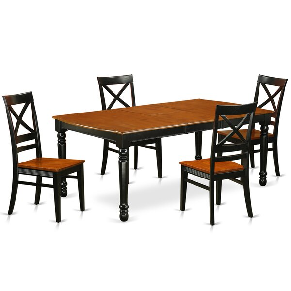 Pimentel 5 Piece Solid Wood Dining Set By August Grove 2019 Online