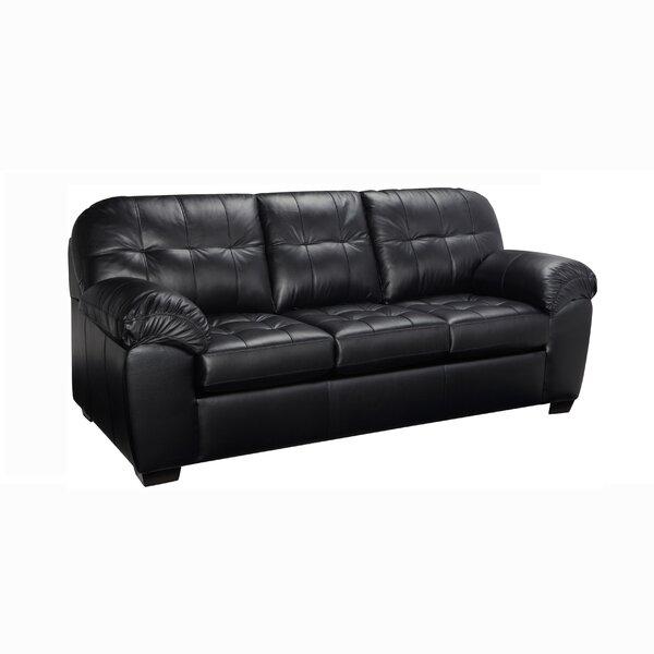 Bellamy Leather Sofa By Red Barrel Studio