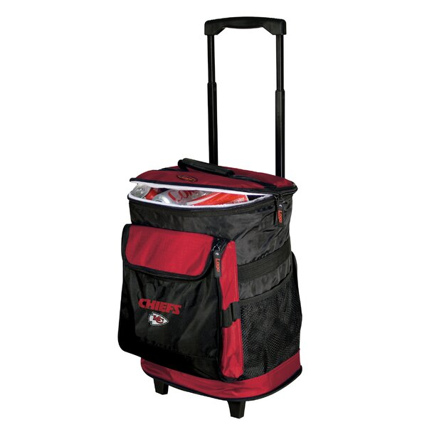 NFL Rolling Cooler by Logo Brands