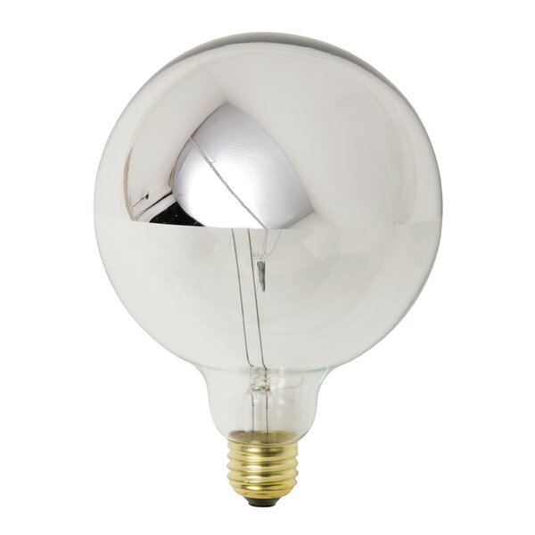 25W Chrome Incandescent Light Bulb by Nuevo