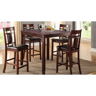 Clarklake 5 Piece Counter Height Dining Set By Winston Porter