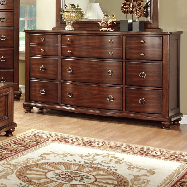 Harrelson 9 Drawer Dresser by Astoria Grand