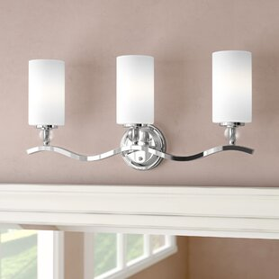 Bibeau 3-Light Vanity Light By Lark Manor Wall Lights
