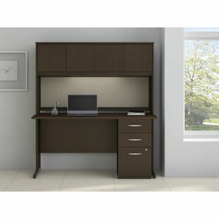 Series C Elite Desk with Hutch