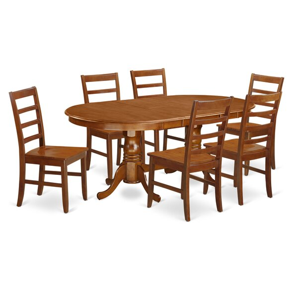 Germantown 7 Piece Dining Set by Darby Home Co