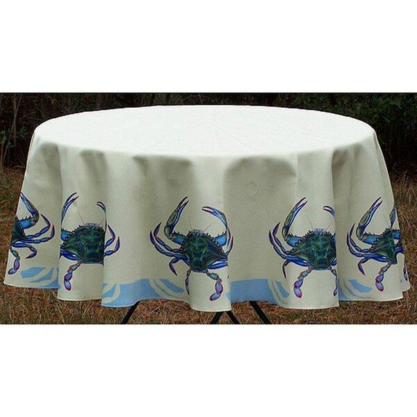 Crab Tablecloth by Betsy Drake Interiors