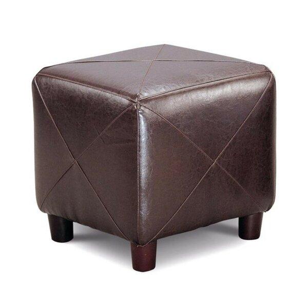 Herrman Cube Ottoman by Ebern Designs