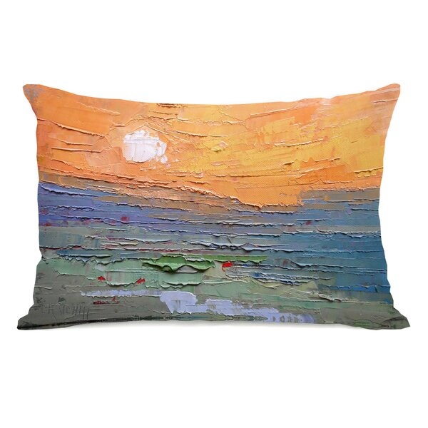 Perryville Burnt Sky Outdoor Lumbar Pillow by Ebern Designs
